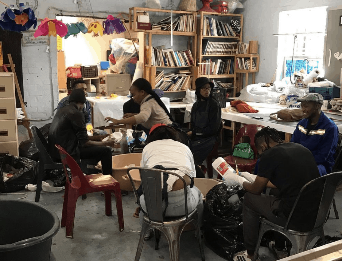 Our Workshop in 2020, after the lockdown was eased